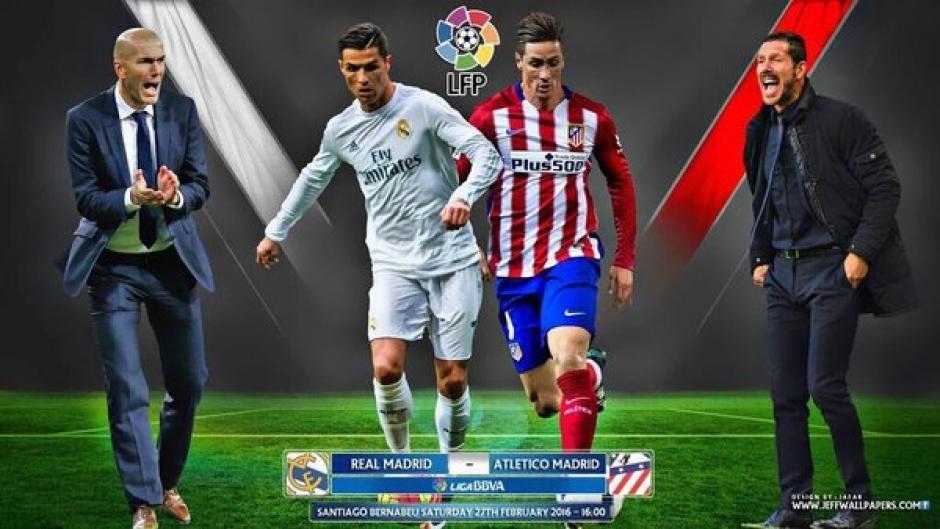Real Madrid previo Atlético 2016 foto
