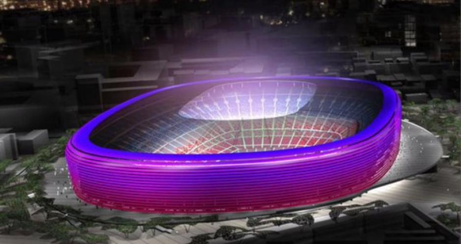 Así lucirá el nuevo estadio Camp Nou. (Foto: Sport)