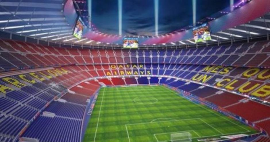 Este sería el interior del Nuevo Camp Nou. (Foto: Sport)