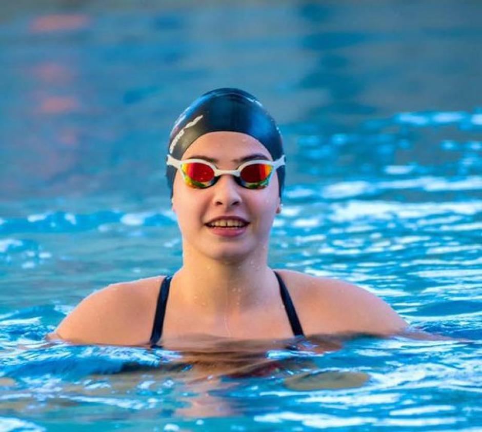 En la piscina es donde Yusra Mardini se siente más feliz. (Foto: Aipsmedia)