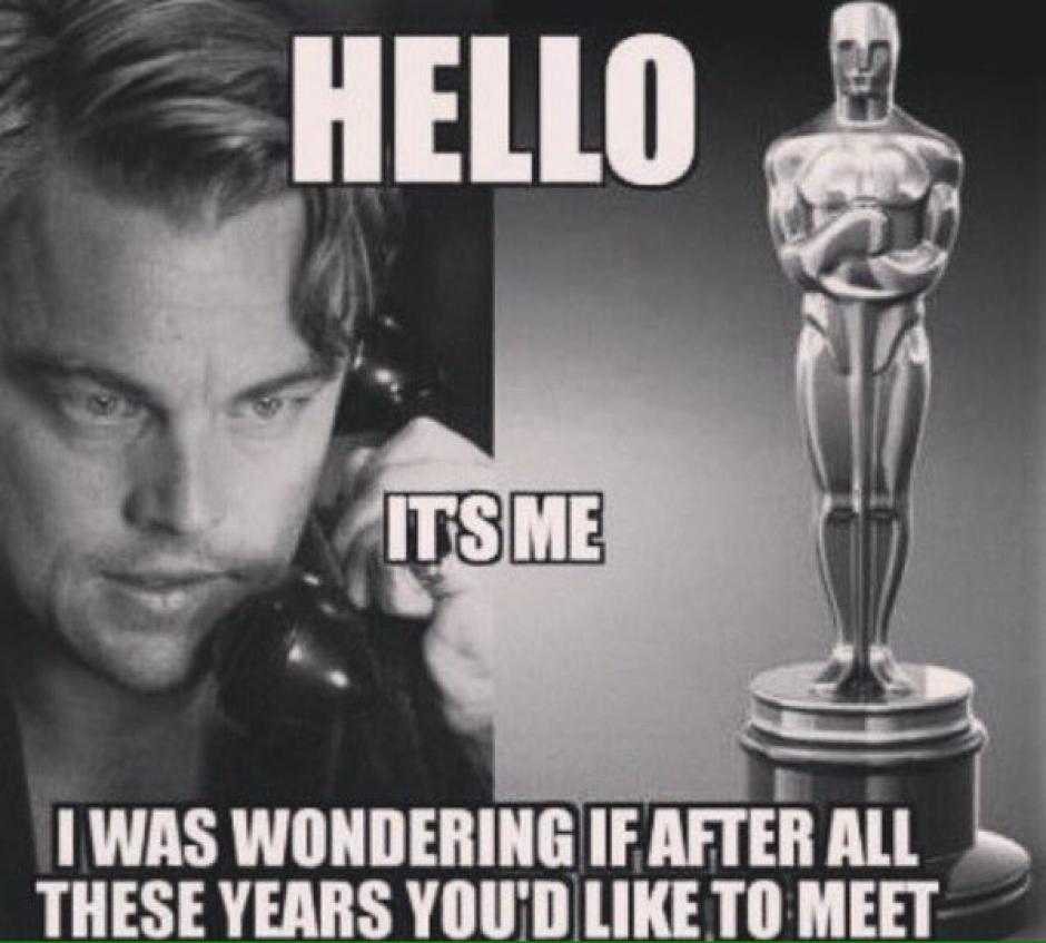 Los memes de Leonardo DiCaprio no se hicieron esperar.