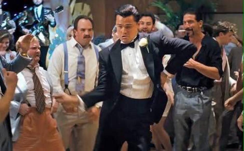 """Algunos """"memes"""" dicen que en este momento DiCaprio está celebrando de esta manera. (Foto: Twitter)"""