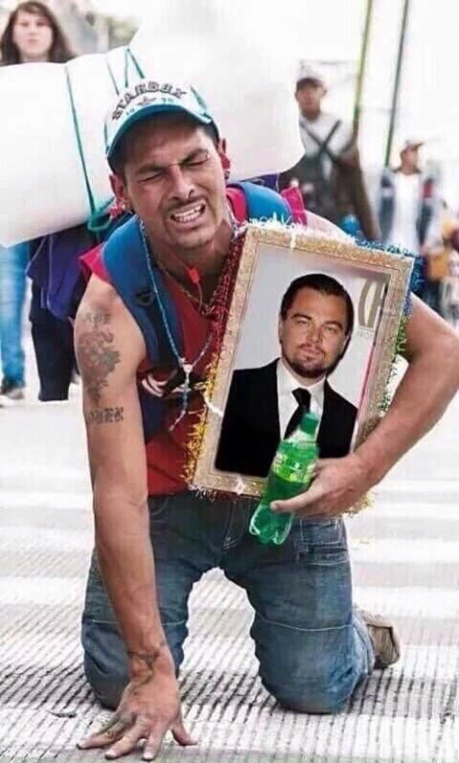 Hay quienes llevaron el tema de DiCaprio muy lejos. (Foto: Twitter)