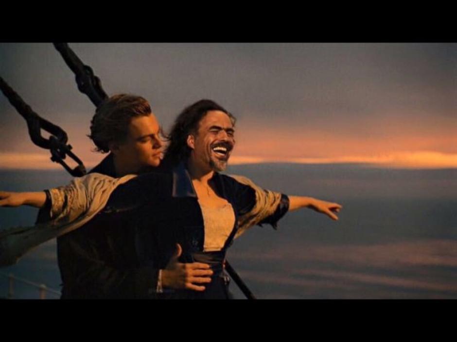 Muchos dicen que sin Iñarritu DiCaprio no hubiese ganado el Oscar. (Foto: Twitter)