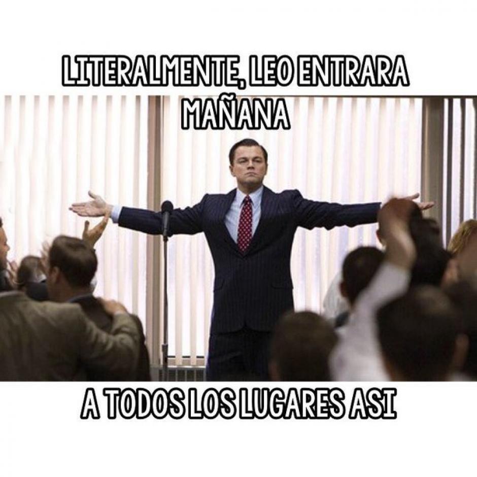 """Hay """"memes"""" que buscan representar el sentimiento de Leonardo. (Foto: Twitter)"""