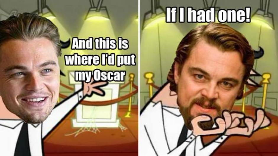"""""""Si yo tuviera un Oscar, este sería su lugar""""..."""