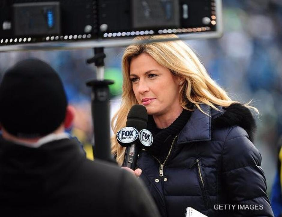 Erin Andrews ahora labora en FoxSports