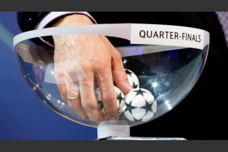 El sorteo de cuartos de final de la UEFA Champions League se realizó en Nyon, sede de la FIFA en Suiza