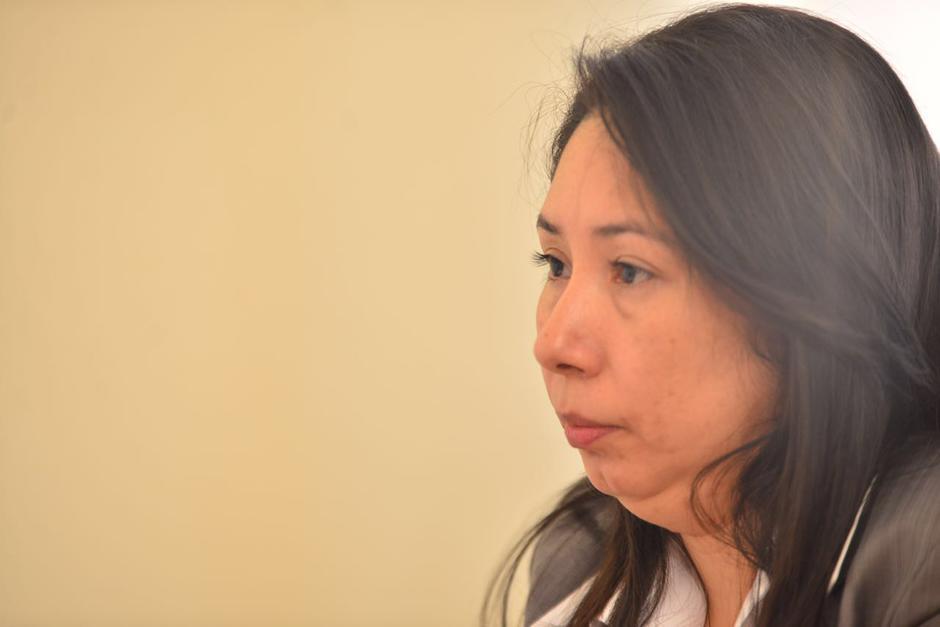 Erika Lorena Aifán Dávila es la nueva jueza de Mayor Riesgo. (Foto: Jesús Alfonso/Soy502)