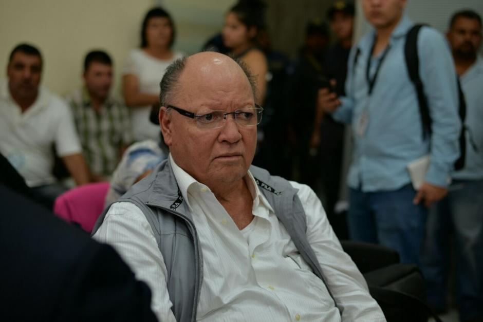 Nery Dubón Arita, es el propietario de la empresa El Bodegón, el juez autorizó el traslado del Preventivo de la zona 18 a Mariscal Zavala. (Foto: Wilder López/Soy502)