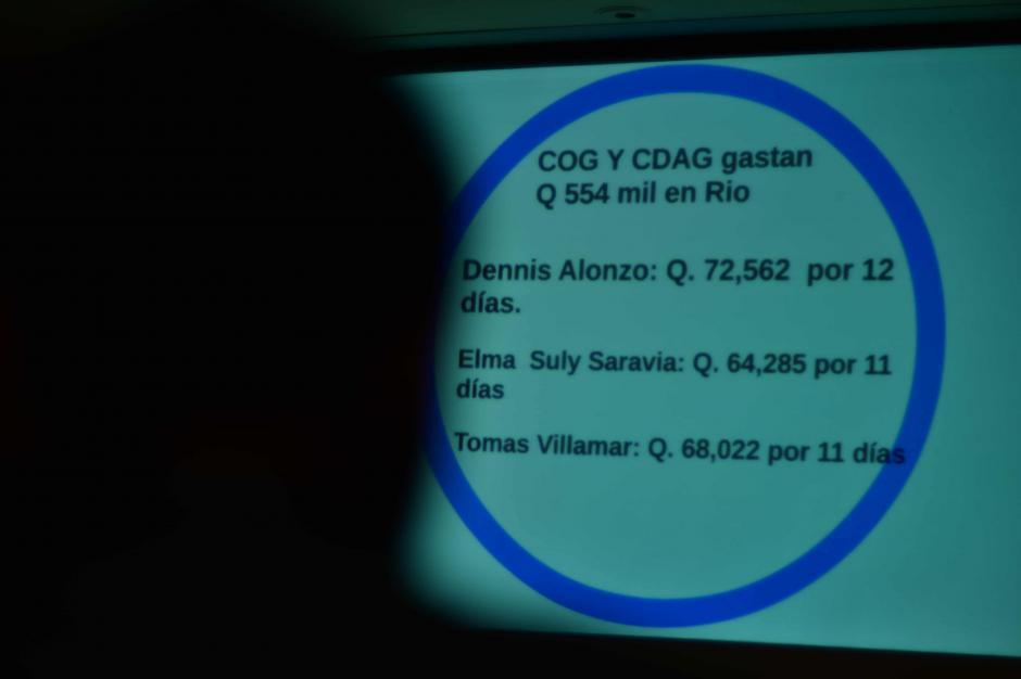 Los desembolsos en viáticos para los dirigentes fue cuestionado por Acción Ciudadana. (Foto: Jesús Alfonso/Soy502)