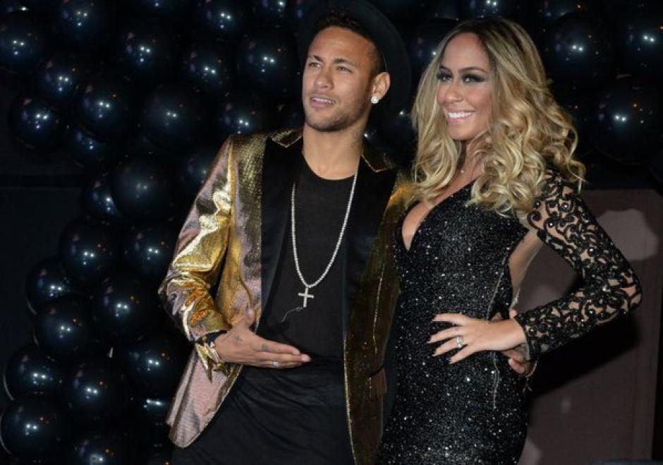 Neymar posó junto a Rafaella, quien festejó su cumple número 20. (Foto: Mundo Deportivo)