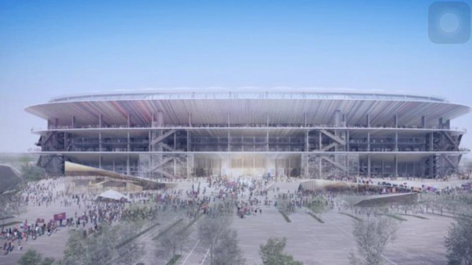 El Camp Nou tendría una capacidad para 105 mil espectadores. (Foto: Sport)