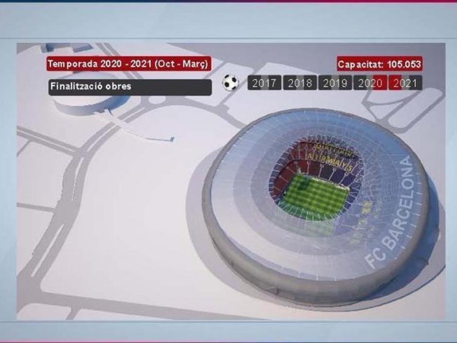 Así quedará la casa del Club Barcelona. (Foto: Sport)