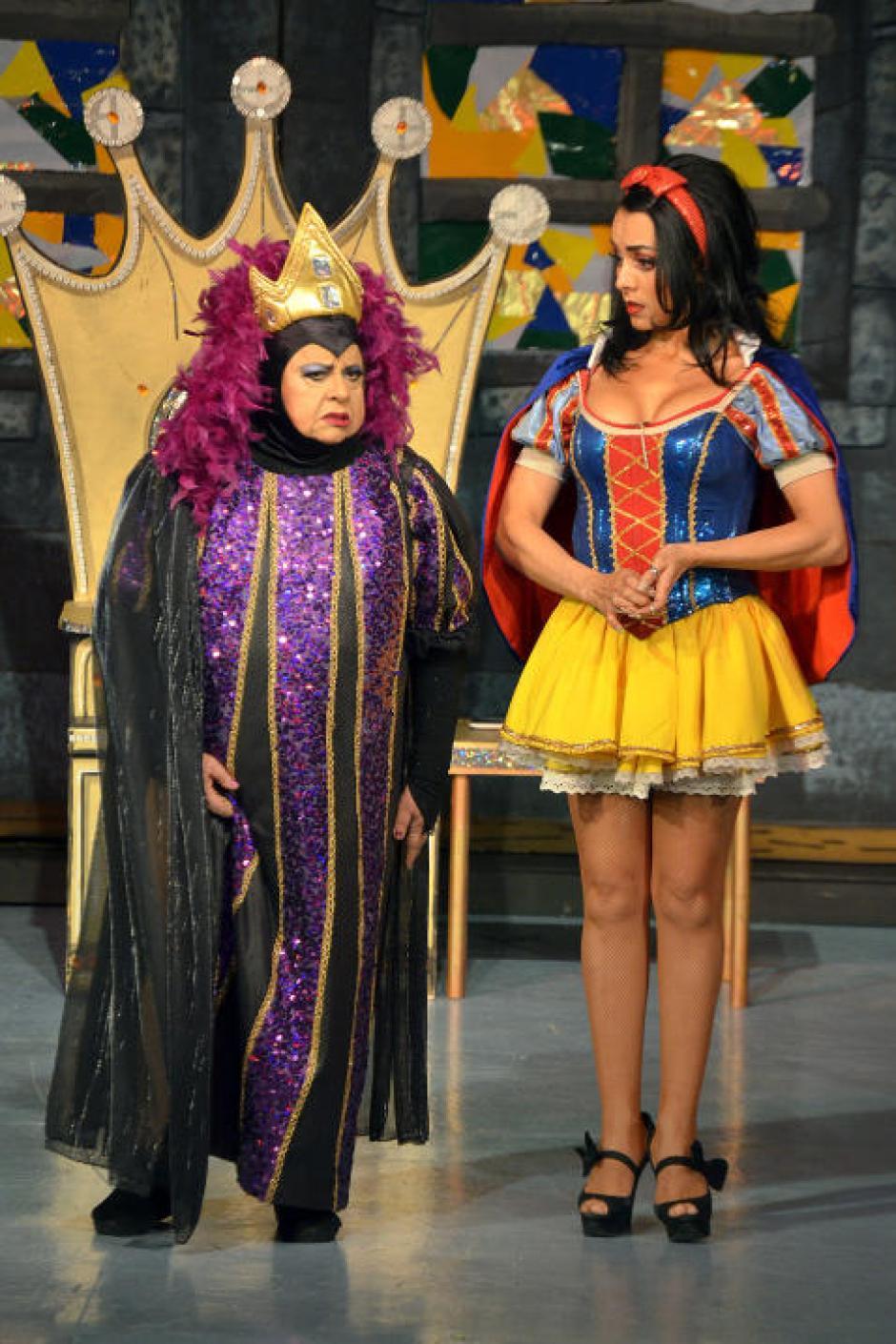 Montero luce su belleza y talento en el teatro. (Foto: Mezcalent/Univisión)