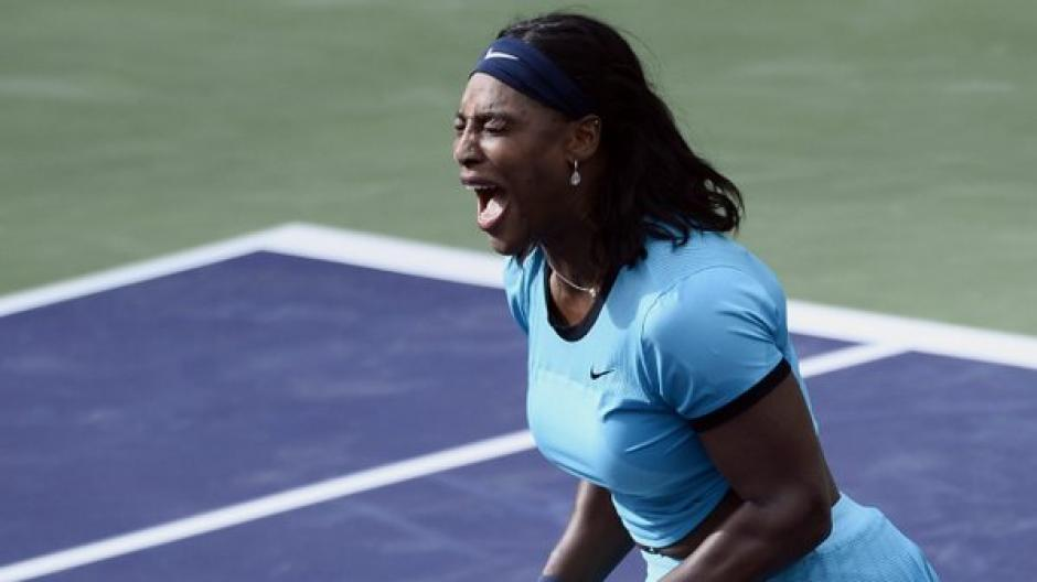 Serena Williams avanza en Indian Wells 2016 foto