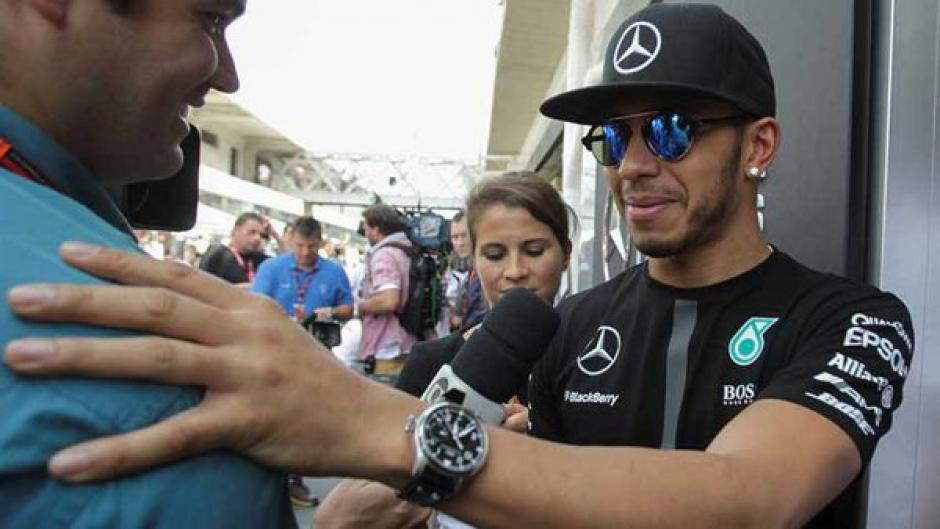 Lewis Hamilton foto previo temporada