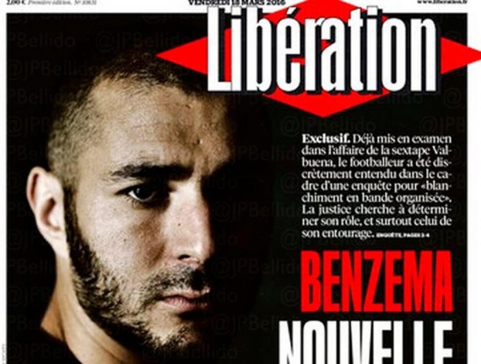 Benzema periódico liberation