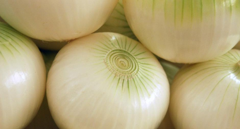 """1. Cebolla: según """"The National Onion Association"""" de Estados Unidos, las cebollas deben guardarse en un lugar fresco, seco y ventilado. Además deben guardarse sin pelar ni ponerlas en bolsas de plástico. Existe una excepción cuando ya están en pedazos y peladas, pueden guardarse en un recipiente tapado en el refrigerador. (Fuente: Morguefile)"""