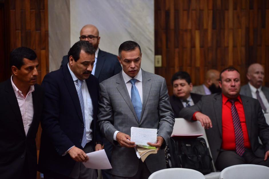 Juan de Dios Rodríguez fue el último en solicitar medidas sustitutivas en la audiencia número 30 del caso Cooptación del Estado. (Foto: Jesús Alfonso/Soy502)