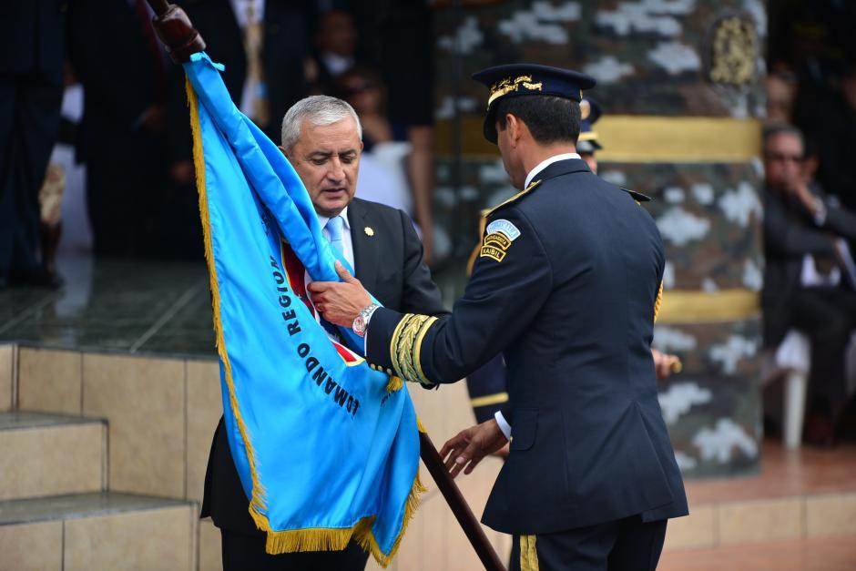 El expresidente y exministro de la Defensa, están detenidos por corrupción. (Foto: Archivo/Soy502)