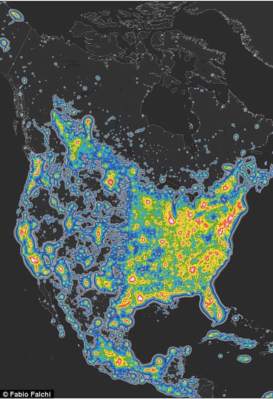Estados Unidos es uno de los más afectados. (Foto: Esri)