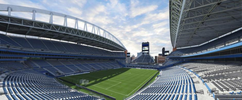El estadioCenturyLink Field (Seattle Sounders FC, Major League Soccer). (Imagen: Electronics Arts)