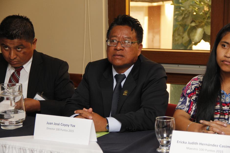 Juan José Coyoy, de Quetzaltenango, es el director 100 puntos de 2015.(Foto: Jorge Raúl Sente/Soy502)