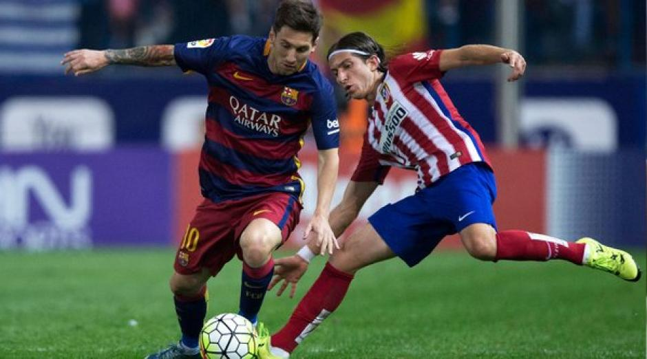 FC Barcelona y Atlético de Madrid foto