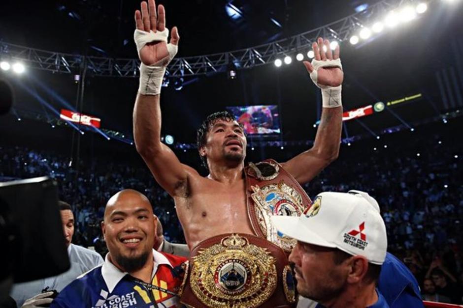 Como campeón se retira Manny Pacquiao del boxeo profesional. (Foto: AFP)