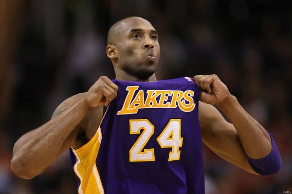 Recital de Kobe Bryant en su partido de despedida de la NBA.
