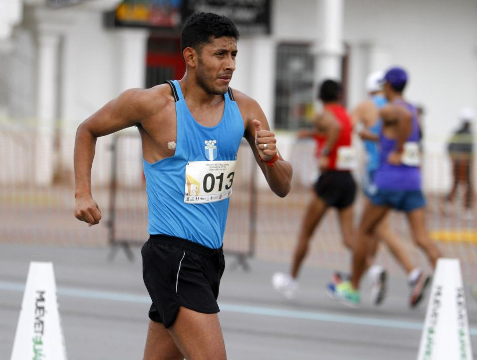 El marchista guatemalteco, Mario Bran, consiguió marca para Juegos Olímpicos, en la prueba de 50 kilómetros. (Foto: Federación Nacional de Atletismo)