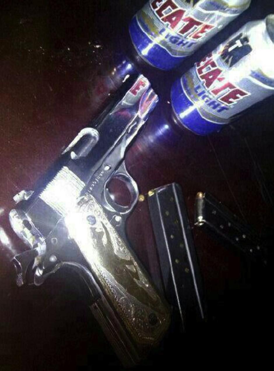 Las armas que utilizan están hechas de oro. (Foto: excelsior.com.mx)