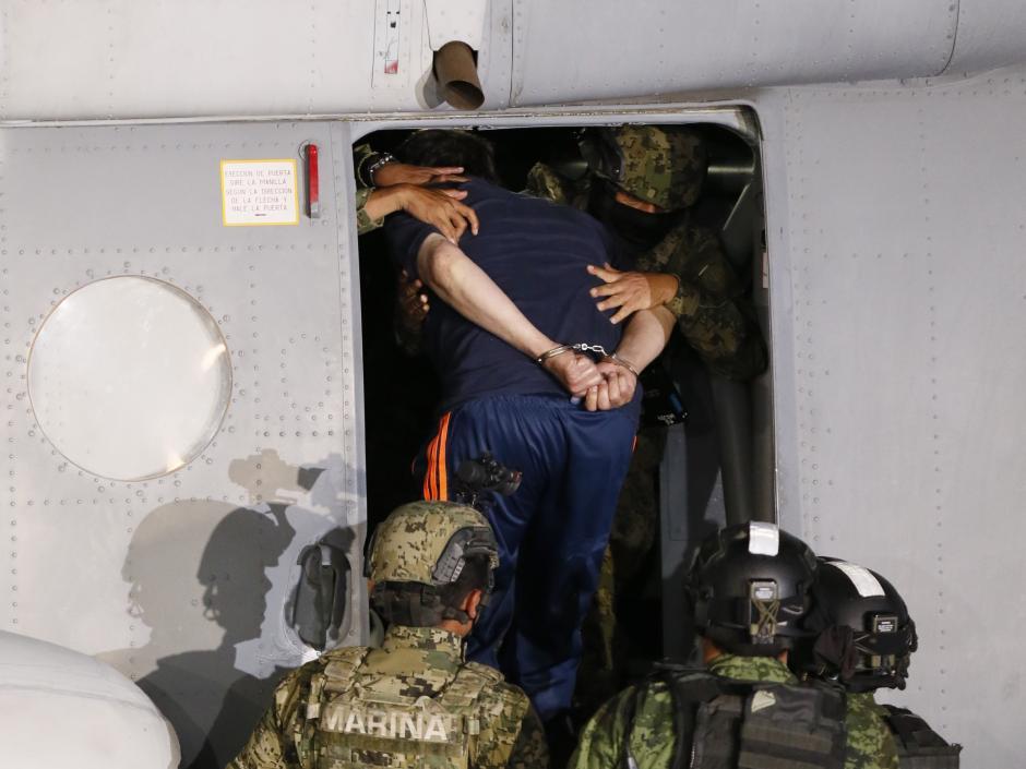 El destino de Joaquín Guzmán Loera es la misma cárcel de donde se fugó. (Foto: EFE).