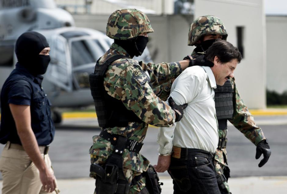 Las autoridades de Argentina se encuentran en alerta ante la presencia de El Chapo Guzmán. (Foto: AFP)