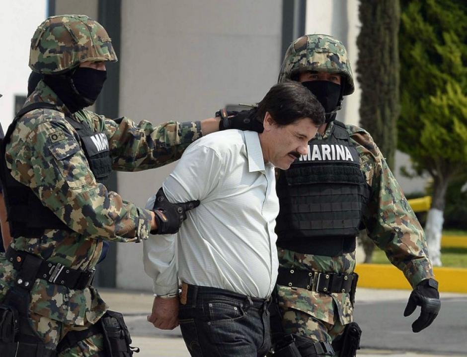 """La captura de """"El Chapo"""" Guzmán, según las autoridades mexicanas, se produjo sin utilizar ni un solo disparo (Foto: AFP)"""