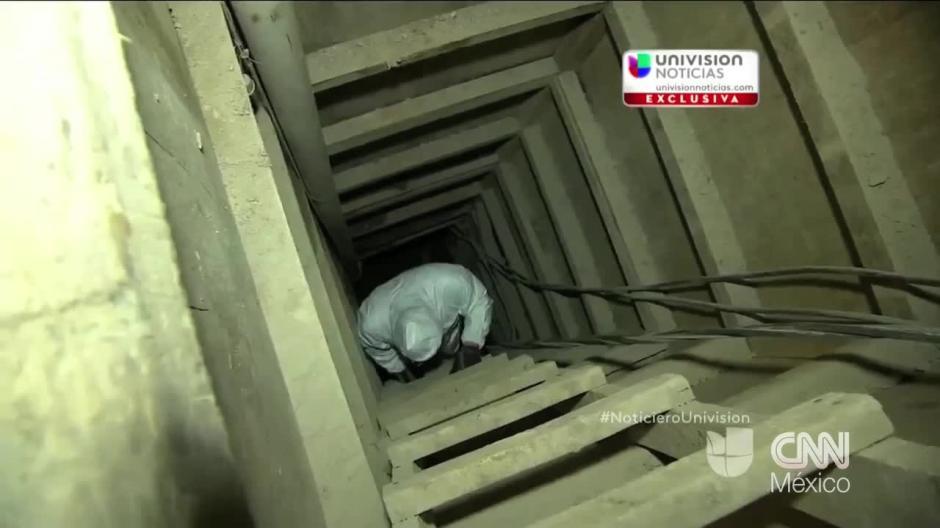 Noticieron como Univisión han hecho recorridos a lo largo del túnel. (Foto: Agencias)