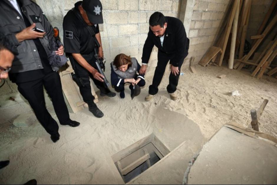 """En julio de 2015, """"El Chapo"""" Guzmán escapó de una prisión utilizando túneles. (Foto: Archivo/Soy502)"""