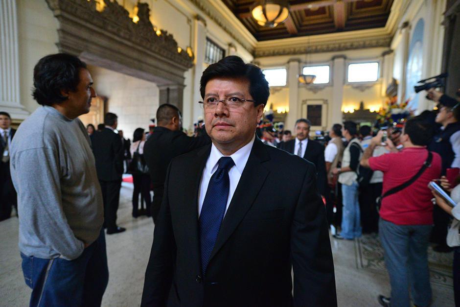 El magistrado de la CSJ, Douglas Charchal, se puso a disposición del juez Miguel Ángel Gálvez en el caso TCQ. (Foto: Archivo/Soy502)