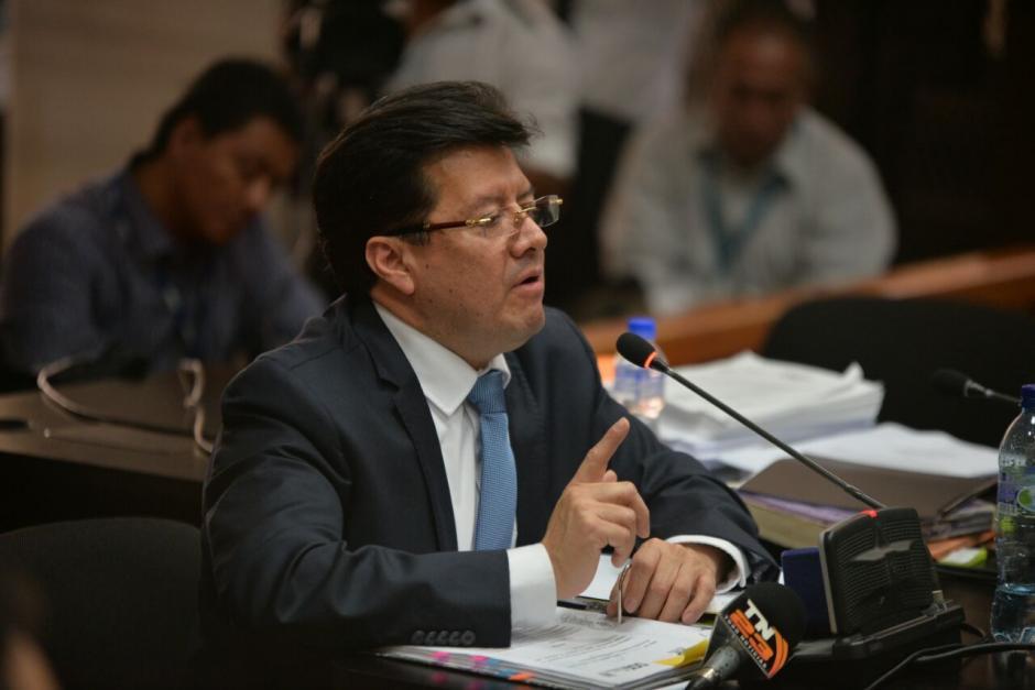 Charchal negó todos los señalamientos. (Foto: Wilder López/Soy502)