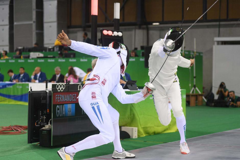 Charles ganó 19 combates de esgrima de los 35 pautados. (Foto: Aldo Martínez/Enviado de Nuestro Diario)