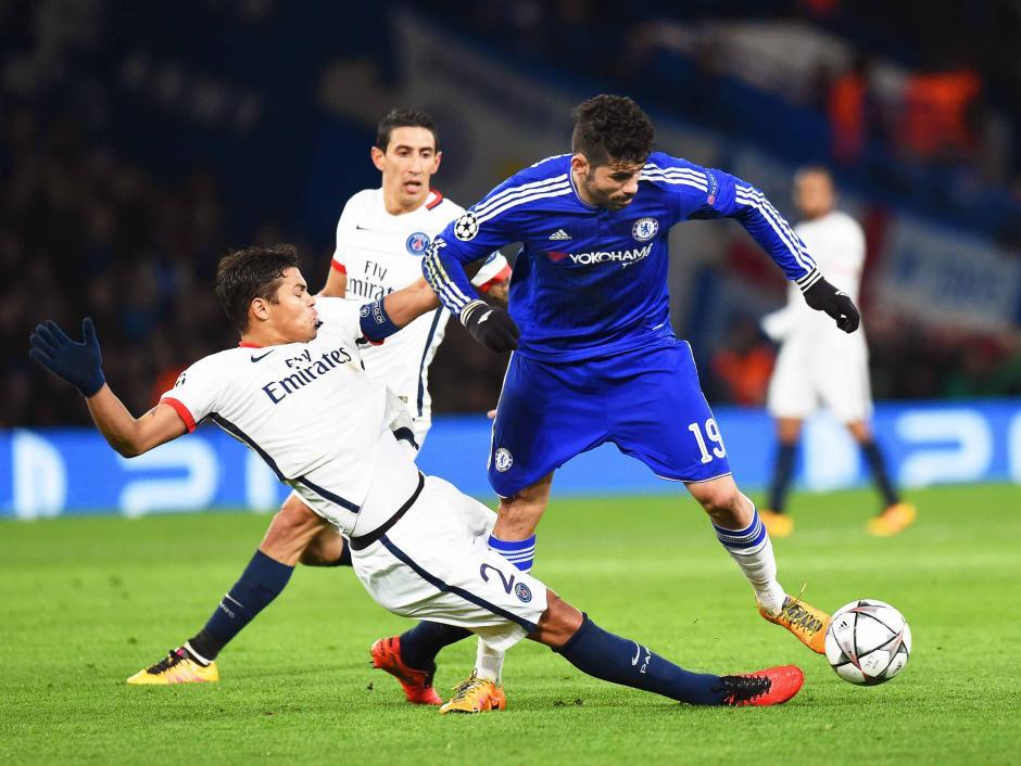 Diego Costa convirtió por Chelsea, el conjunto inglés estuvo cerca de emparejar la serie, pero no le alcanzó. (Foto: EFE)