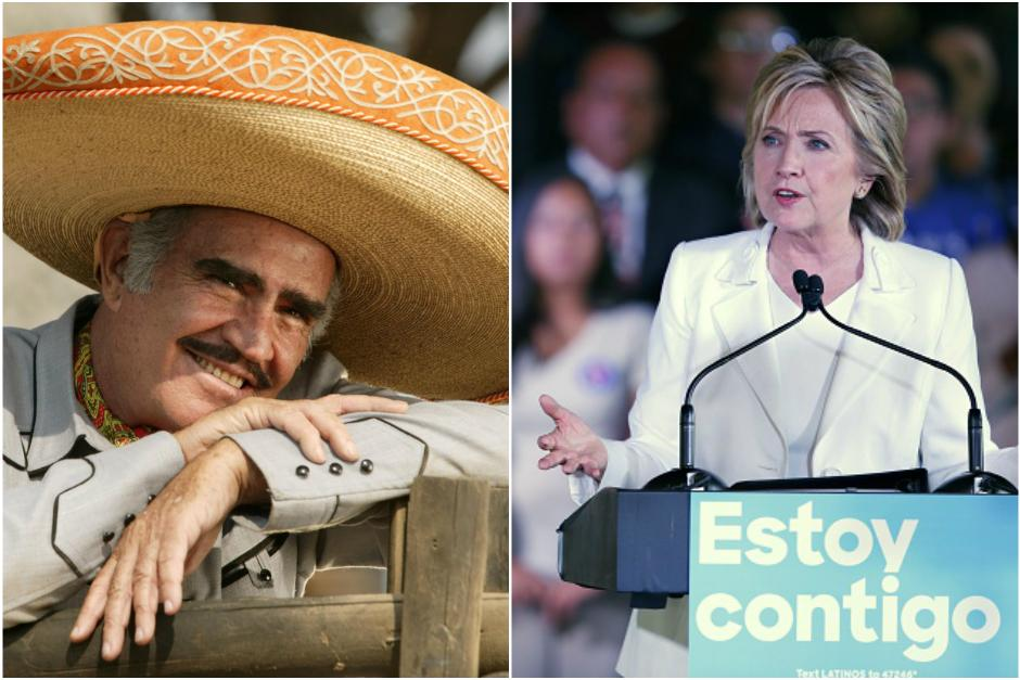 Vicente Fernández espera que Hillary Clinton llegue a la presidencia de Estados Unidos. (Foto: Agencias)