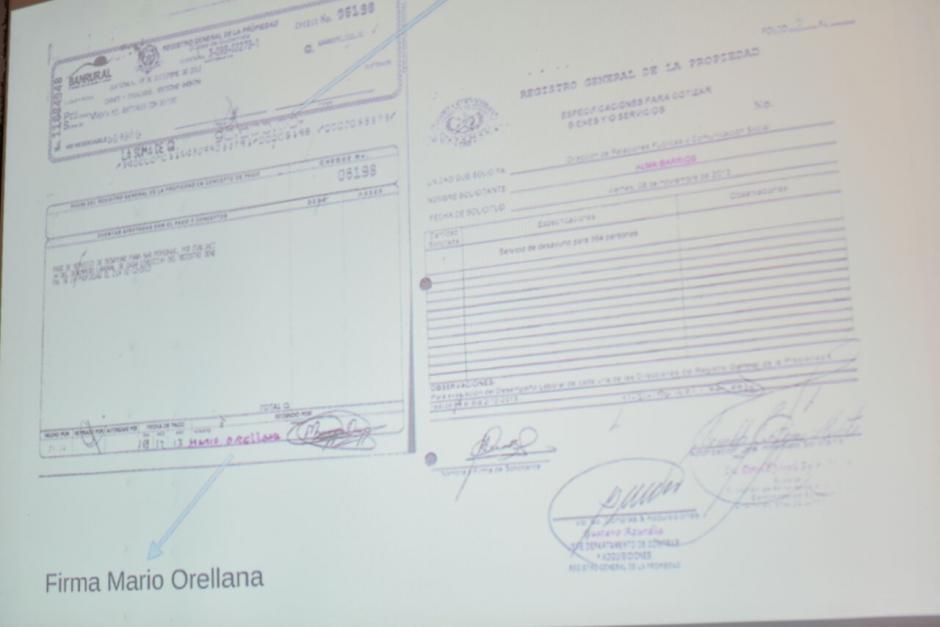 Estas son las pruebas que presentó la CICIG y el MP contra el hijo de Jimmy. (Foto: Wilder López/Soy502)