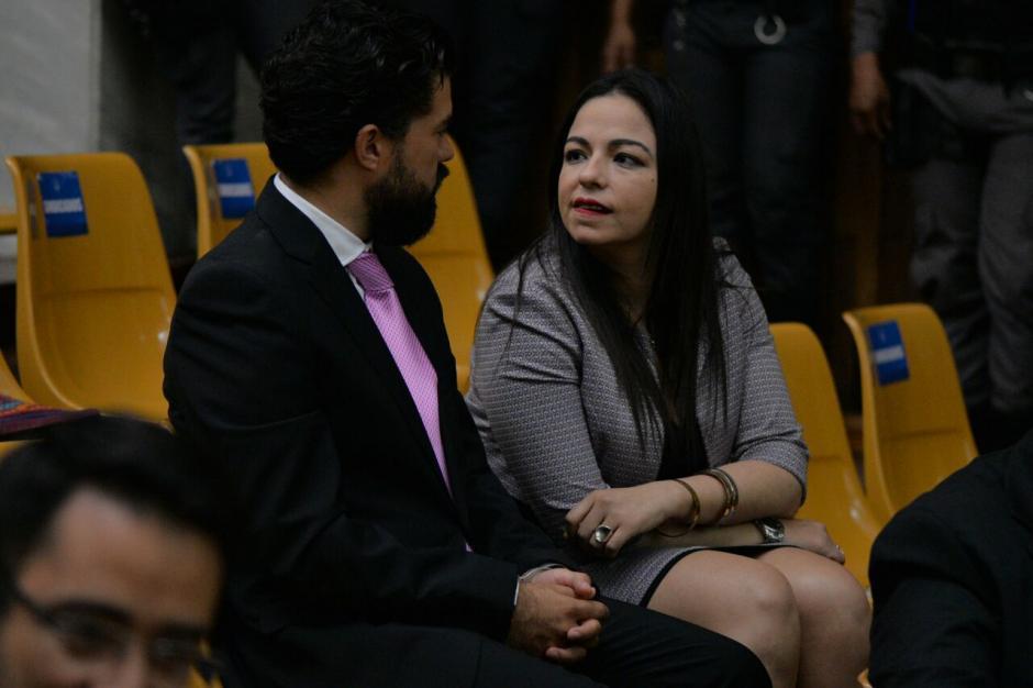 La abogada defensora de Jonathan Chévez es la encargada de continuar con la audiencia de primera declaración. (Foto: Wilder López/Soy502)