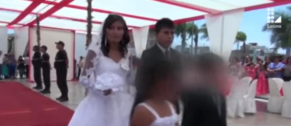 Una joven asistió a la boda de su ex para evitar el enlace. (Imagen: captura de YouTube)