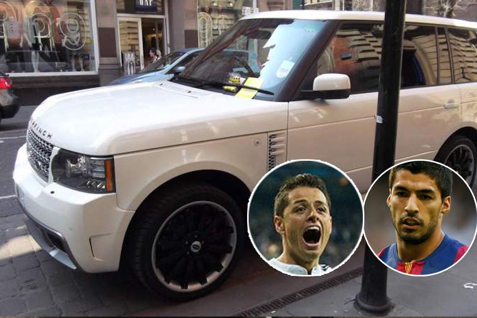 Javier Hernández y Luis Suárez tienen un Range Rover cada uno, preparado por la alemana Arden. Este vehículo reúne lo mejor de la ingeniería británica con el know-how de los alemanes. El auto completo puede valer 130 mil dólares.