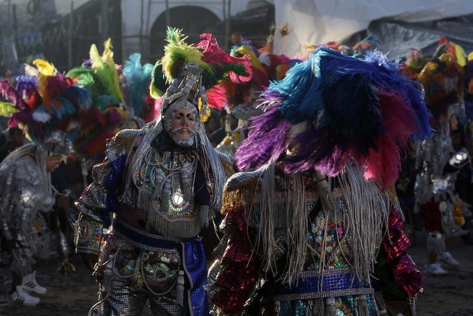 El sincretismo sale a luz durante las celebraciones del 1 de noviembre en Chichicastenango. (Foto: Esteban Biba/EFE)
