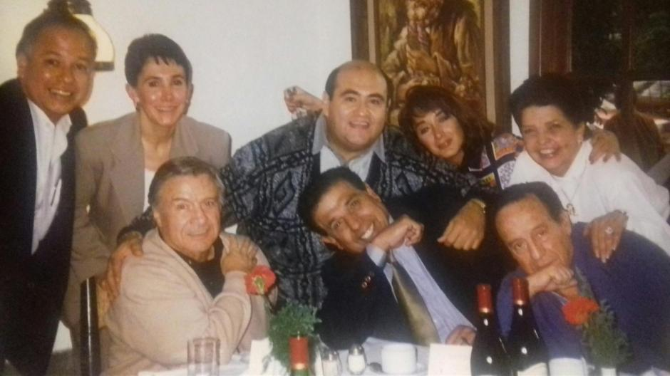 Otra foto del recuerdo del elenco de El Chavo del 8. (Foto: Facebook/La Chilindrina)