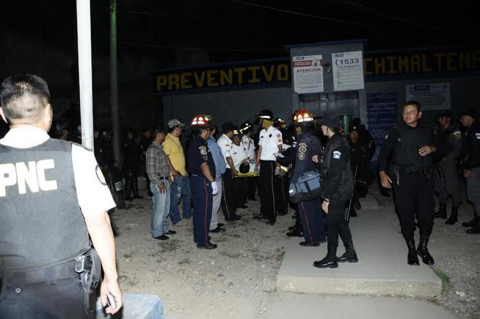 Otro motín se registró en la cárcel de Chimaltenango. (Foto: Nuestro Diario)